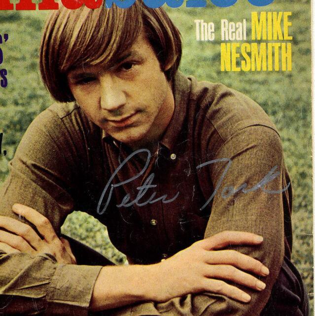 Monkees Peter Tork genuine signed aurograph HULLABALOO Magazine September 1969