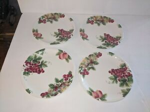 ROYAL DOULTON Everyday VINTAGE GRAPE - Set of  4 DINNER PLATES New