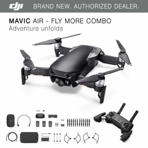 DJI-Mavic-Air-Onyx-Black-Drone-Fly-More-COMBO-4K-Camera