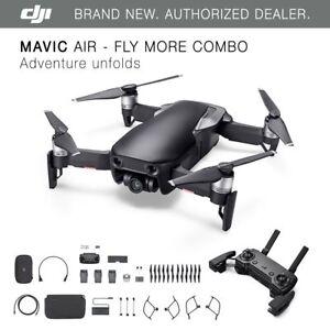 DJI-Mavic-Air-Onyx-Black-Drone-Fly-More-COMBO-4K-Camera