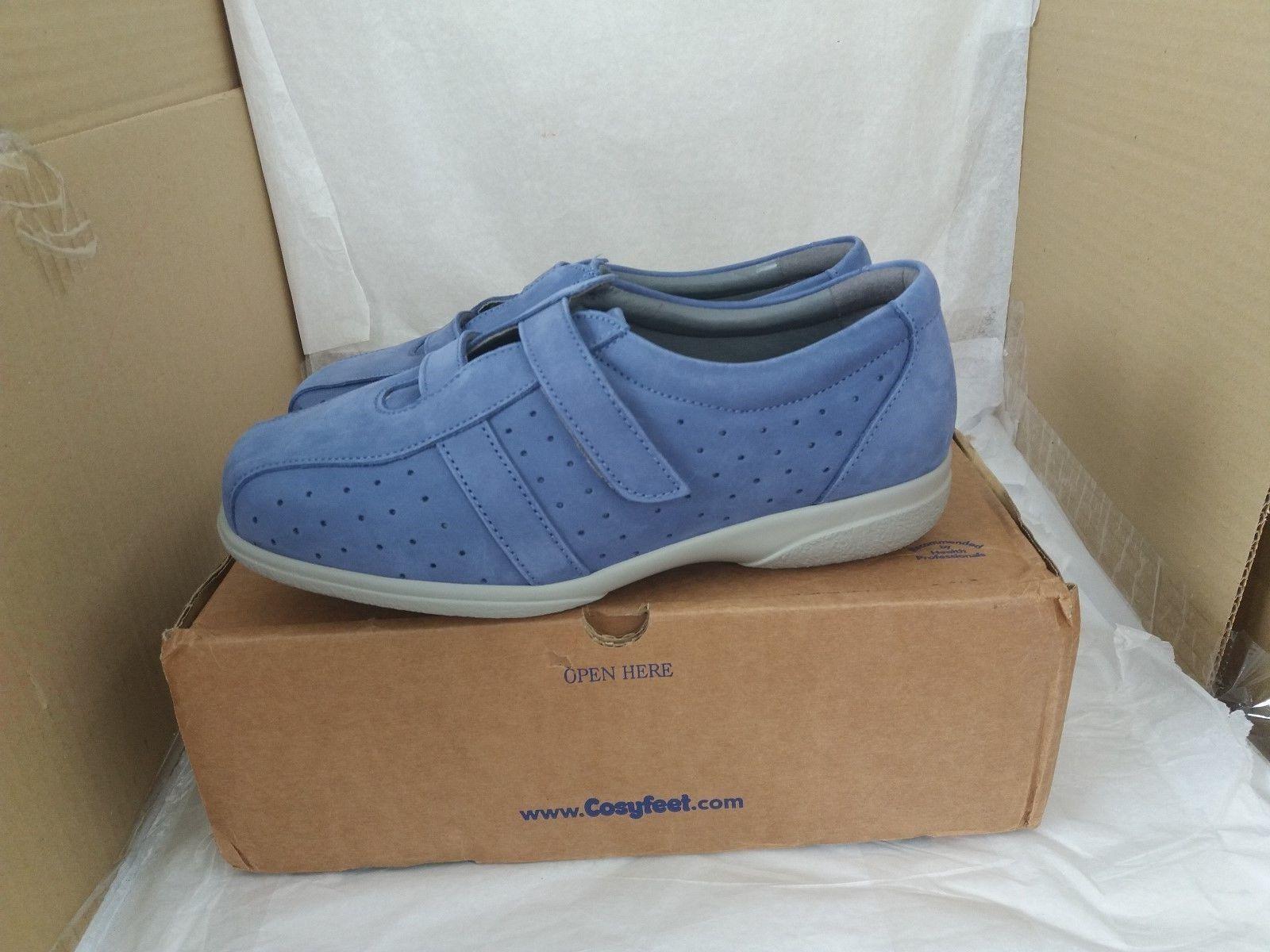 Cosyfeet  HEAVEN Extra Roomy Footwear - Azure Größe - UK Größe Azure 5/EU 38 - 6b4a6f