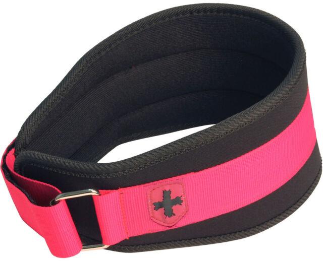 """Harbinger 232 Women's 5"""" Foam Core Weight Lifting Belt - Pink"""