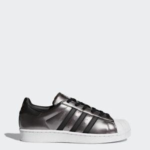 adidas superstar silver metallic ebay