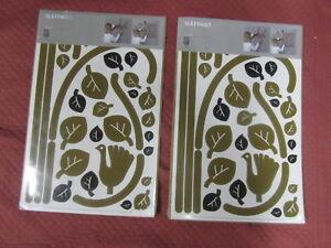 Image Is Loading IKEA Slatthult La Cocotte Folk Tree Wall Stickers