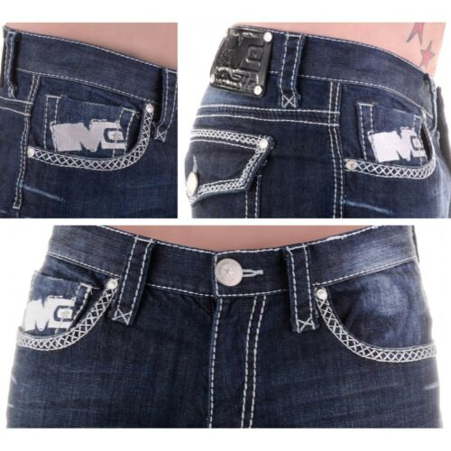 Monsta Clothing Bodybuilding Mens Jeans Boot Cut Authentic Regular Fit All Sizes