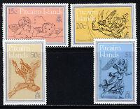 PITCAIRN ISLANDS 1982 The Complete Christmas Set SG 230 to SG 233 MNH