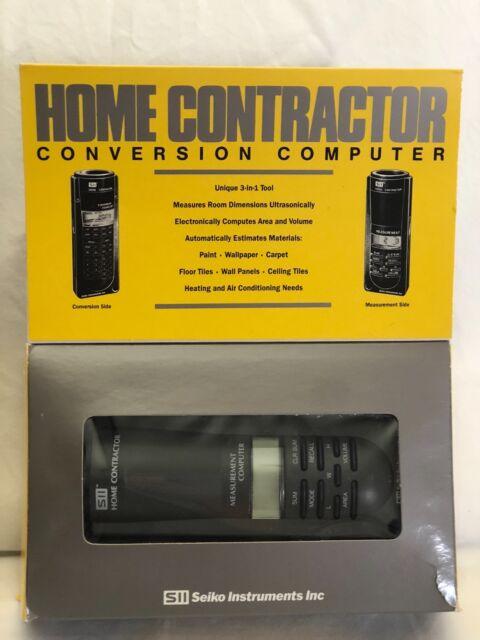 seiko home contractor conversion computer hc 1000 ebay rh ebay com Home Contractor Cartoon Home Contractor Logos