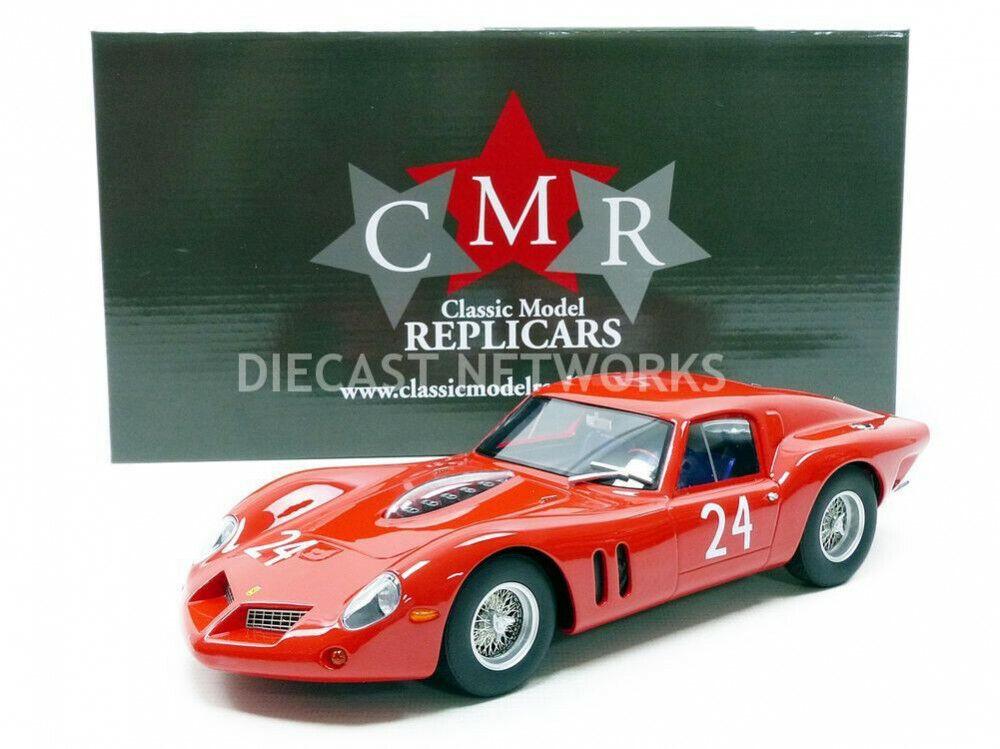 Cmr - 1 18 - Ferrari 250 Gt Drogo - Test le Mans 1963 - CMR095