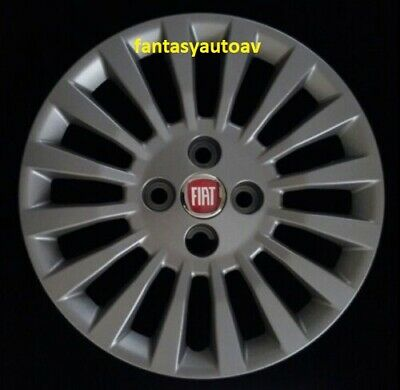 Fiat Punto 188 Dal 2003 /> Set 4 Pezzi Borchie Coppe Copponi Copri Cerchi 14