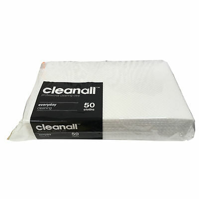 Business & Industrial Cleaning Products Obedient Clean All White 50x50pk Super Strong Absorbent General Everyday Cleaning Cloths Orders Are Welcome.