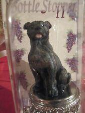 Staffordshire Bull Terrier Dog Wine Stopper