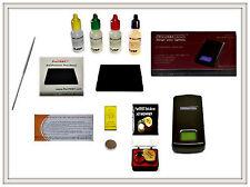 Gold Acid Testing Kit Electronic Tester Scale Digital Test 14K 18K Coins Rings