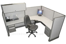 6x8 Herman Miller Medium Wall Office Cubicles With Your Fabric Amp Paint Choice