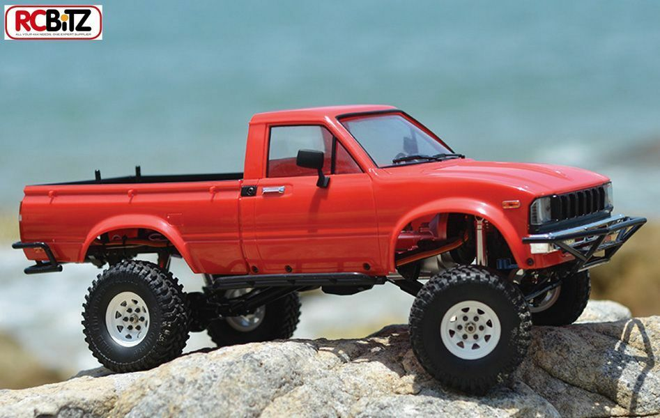 RC4WD Trail Finder 2 RTR Mojave II Rosso body shell Set Z-RTR0024 solo aggiungere BATTERIA