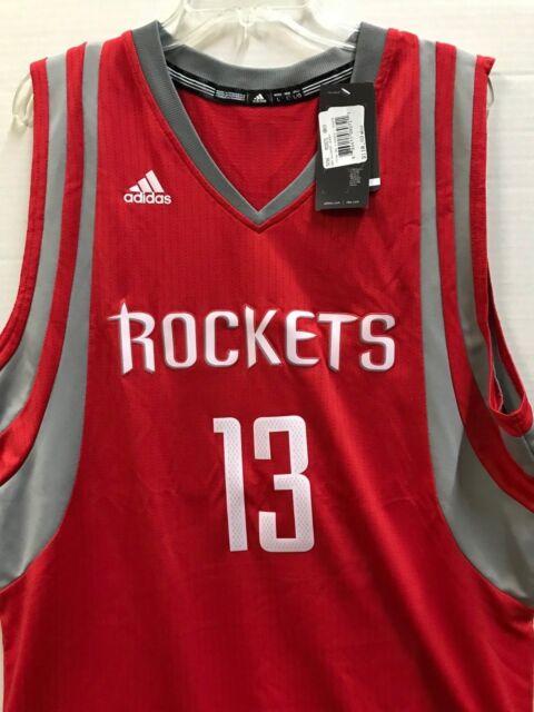Harden # 13 NBA adidas Swingman Jersey Rockets Size Large for sale ...