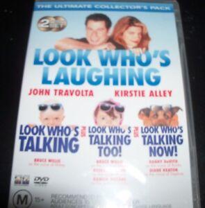 Look-Who-039-s-Talking-Too-Now-John-Travolta-Kirstie-Alley-Au-Reg-4-DVD-NEW