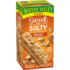 Nature Valley Sweet and Salty Nut Granola Bars Peanut Snack Bars (36 ct.)