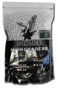 BUSTA-PALLINI-DI-PRECISIONE-SOFTAIR-1KG-6MM-0-23G-JS-TACTICAL-JS-BB0-23-BIANCHI