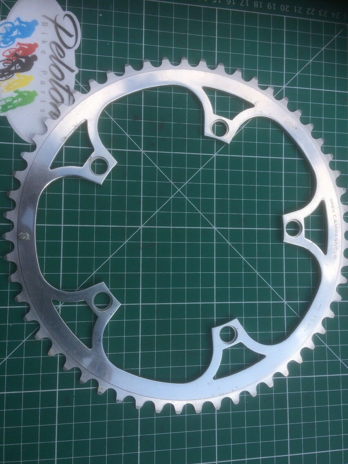 Vintage campagnolo super record Chainring 56 Teeth 144 Bcd