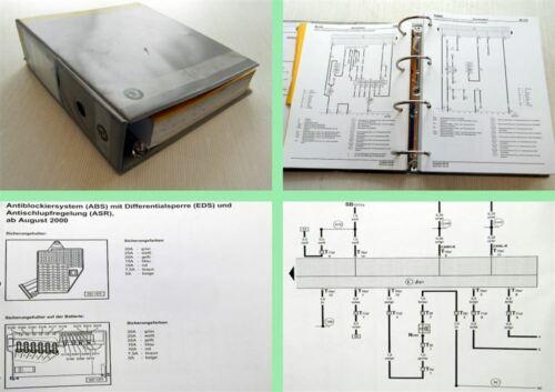 Skoda Fabia I 1999-2002 Werkstatthandbuch Stromlaufpläne Schaltplan Elektrik