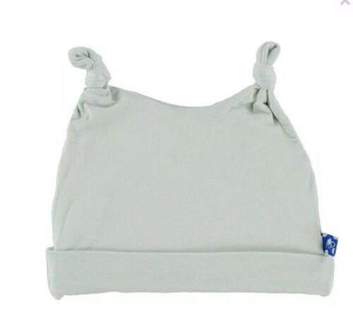 Kickee Pants Bamboo Double Knot Hat Aloe 3-12 Months