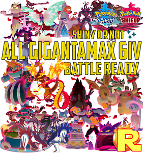 ALL-32-GIGANTAMAX-FORMS-6IV-SHINY-ULTRA-OR-NOT-POKEMON-SWORD-amp-SHIELD