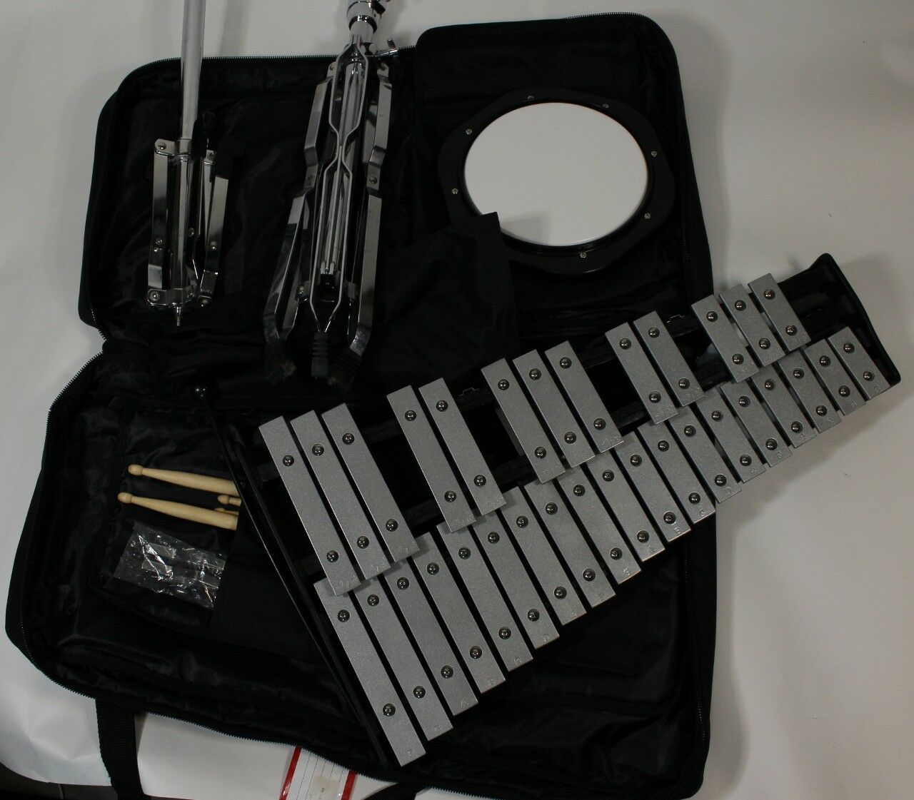 RS Berkeley Student Deluxe Xylophone Xylophone Xylophone Bell Kit with Stand MODEL 6LX MSRP 409.00 27ea18