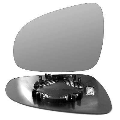 Passenger side Clip Heated Convex wing mirror glass for Kia Sportage 10-15