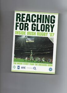 IRELAND RUGBY DVD  - REACHING FOR GLORY (2007) INSIDE IRISH RUGBY