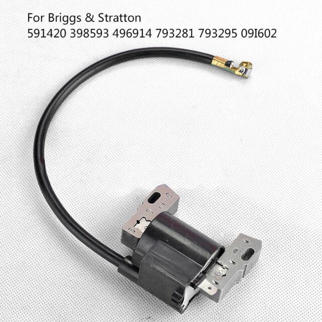 Ignition Coil For Briggs /& Stratton 591420 398593 496914 793281 793295