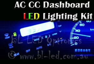 Air con climate control lcd led smd light upgrade for nissan skyline