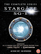 Stargate SG-1 - Complete Seasons 1-10 plus The Ark of Truth/ Continuum (DVD)
