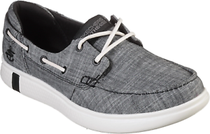 Go Glide Ultra Boat Shoe Black