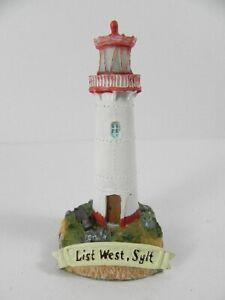 Leuchttürme Nautika & Maritimes PüNktlich Leuchtturm Sylt List West,11 Cm Poly Modell,neu SchnäPpchenverkauf Zum Jahresende