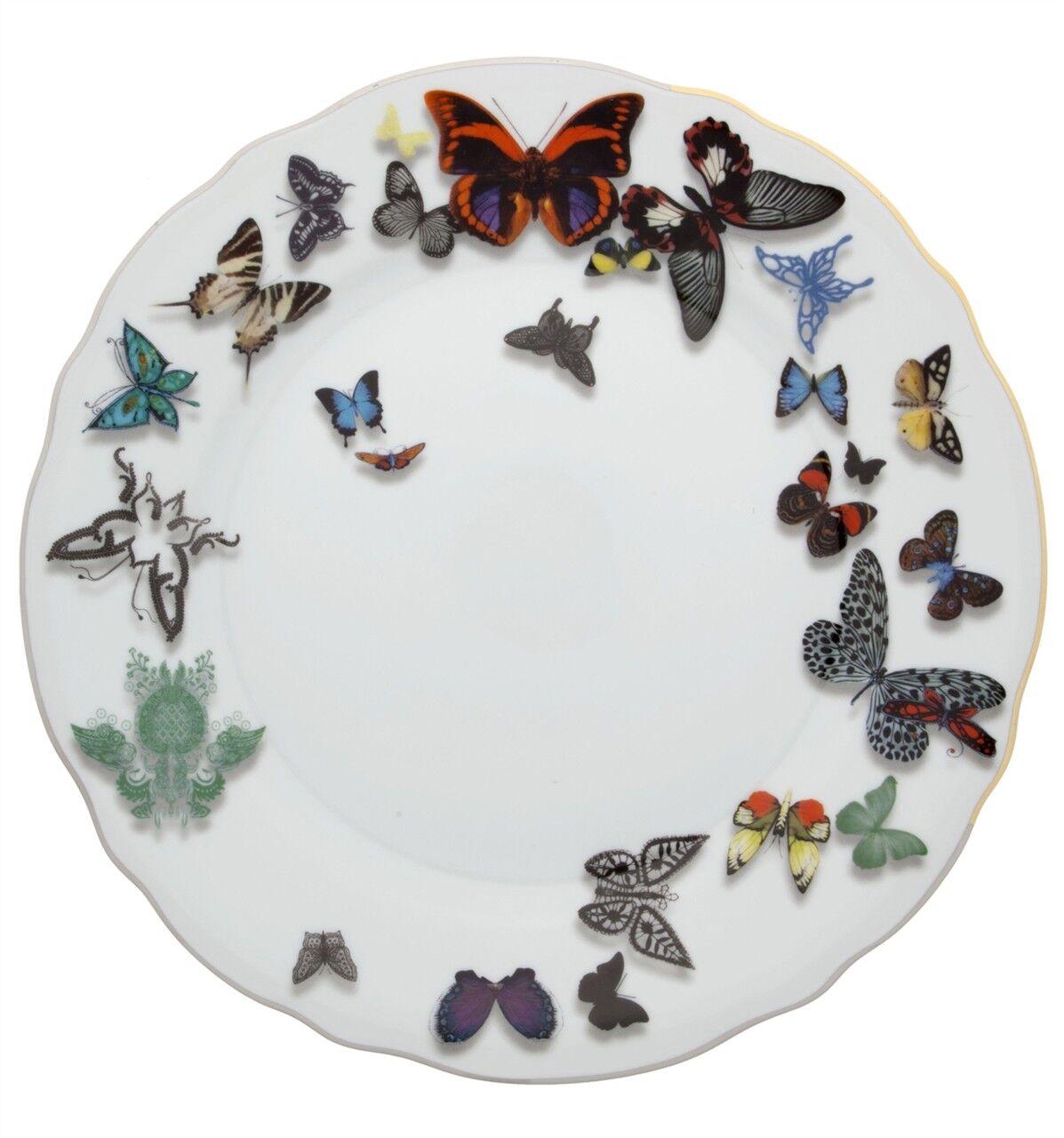 Vista Alegre Butterfly Parade Dinner Plate - Set of 12