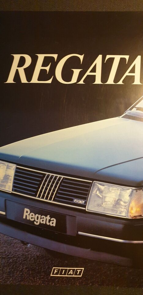 Brochure, Fiat Regata