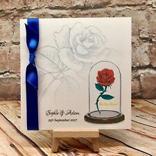 Item 4 Beauty And The Beast Wedding Invitation Disney Wedding **Sample**   Beauty And The Beast Wedding Invitation Disney Wedding **Sample**