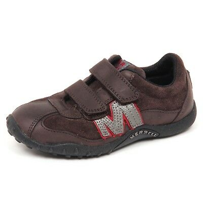 sports shoes 79196 59820 E0484 sneaker bimbo brown MERRELL scarpe strappo shoe kid boy | eBay