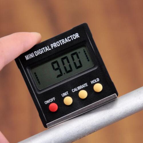 360° LCD Digital Inclinometer Spirit Level Protractor Angle Finder Gauge Meter