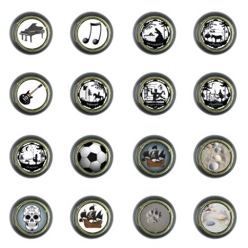 Plastique Plastique Petit Meuble Bouton Meubles Boutons meubles Pommeaux Sticker Motif v1