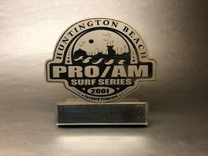VTG-Surf-Series-SS-HB-Pier-HUNTINGTON-BEACH-Pro-Am-2nd-Place-Surfing-Trophy-USA
