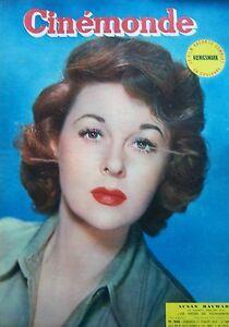 Cinema-Susan-Hayward-Cecile-Aubry-Sacha-Guitry-Magnani-N-968-Kodak-1953