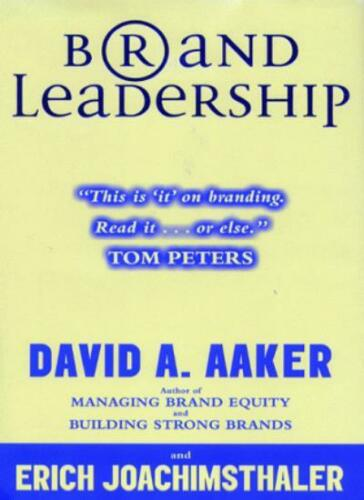 1 of 1 - Brand Leadership: Building Assets in an Information Economy,David A. Aaker, Eri