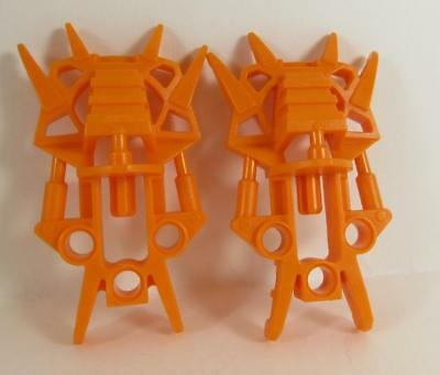 LEGO Parts~ Bionicle Foot Toa Inika Clawed 53542 ORANGE 2