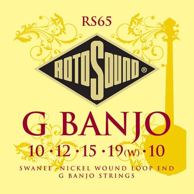 Rotosound RS65 5 String Banjo Strings