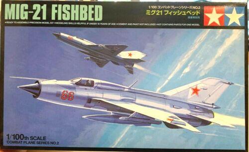 #61602 USSR TAMIYA 1//100 Cold War Fighter Mikoyan Mig-21PF Fishbed