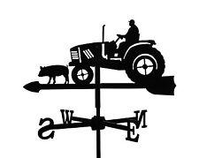Kleine Wetterfahne Bauer auf Trecker Wetterhahn Traktor