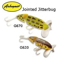 Arbogast Jointed Jitterbug, 2-1/2, 3/8 Oz, Model G620, Nib, Choice Of Colors