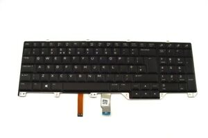 Genuine-Original-Dell-Alienware-17-R4-UK-Keyboard-Backlit-with-Key-Y3K53