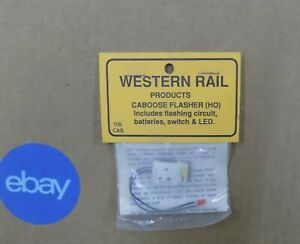 Western-Rail-Flashers-Train-Items-HO-Select-One-NIP